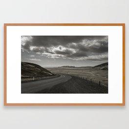 Open // Gloom Framed Art Print