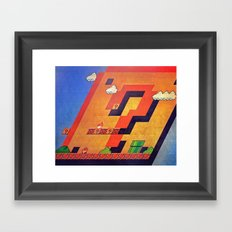 / - / Framed Art Print