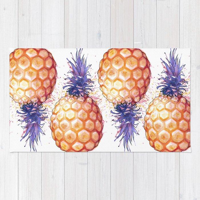 Fat Pineapple 3 Rug