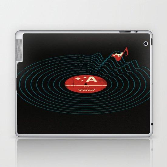 Soundwaves Laptop & iPad Skin