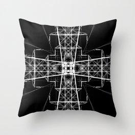Voltymmetry Throw Pillow
