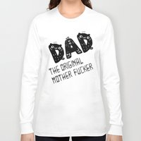 dad Long Sleeve T-shirts featuring Dad by Jessa