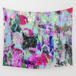 Bright Paint Peeling Wall Tapestry