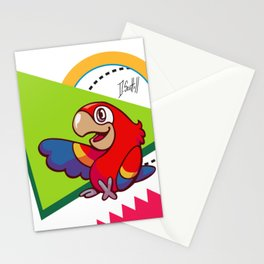 Parrot Pal Stationery Cards