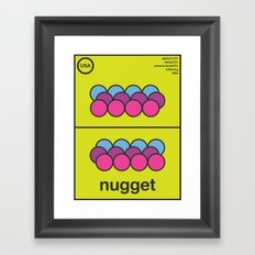 nugget single hop Framed Art Print