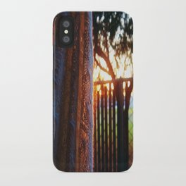 RAINBOW LIGHTS iPhone Case