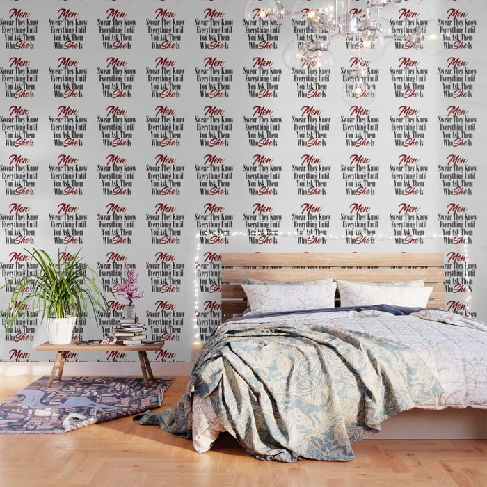 Funny Relationship Design Men Women Husband Boyfriend Meme Wallpaper By Art Iculate Society6