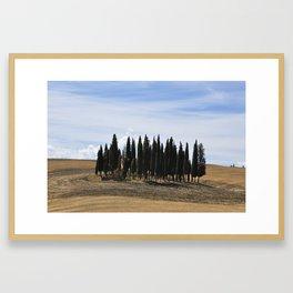 Pienza - Nature of Tuscany Framed Art Print