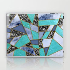 Abstract #457 Marble Shards Laptop & iPad Skin