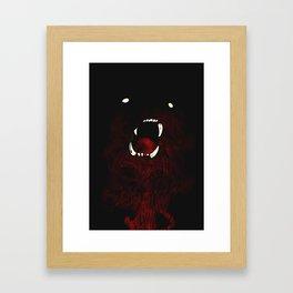 Big Bear Framed Art Print