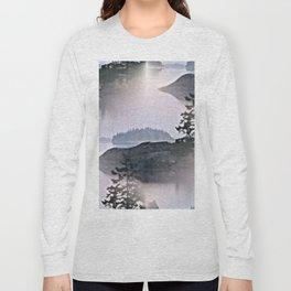 Misty Glow at Archipelago Long Sleeve T-shirt