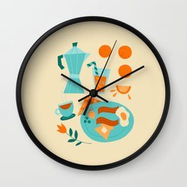 Most Important Meal Wall Clock