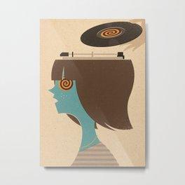 Mind Control Metal Print