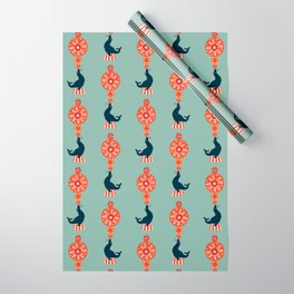 Circus Seal Wrapping Paper