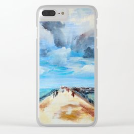 The Breakwater Clear iPhone Case