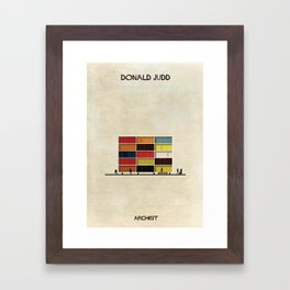 Donald Judd Framed Art Print