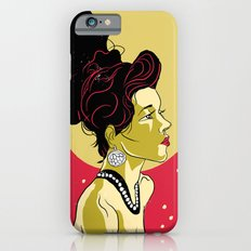 Vintage Girl iPhone 6s Slim Case