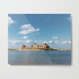 House between rocks Metal Print
