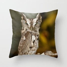 Screech to a halt Throw Pillow