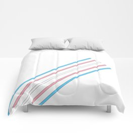 Transcend: On the Rise Comforters
