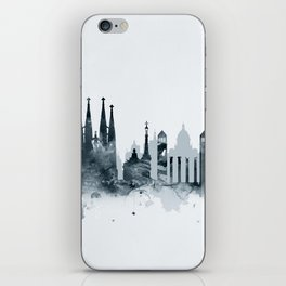 Barcelona Skyline iPhone Skin