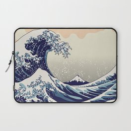 Digital copy of the Great wave Laptop Sleeve