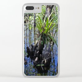Womb of the Slough (horizontal) Clear iPhone Case