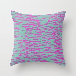 Dappled Aegean Throw Pillow
