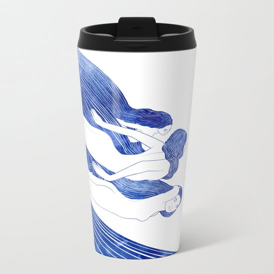 Nereids Metal Travel Mug