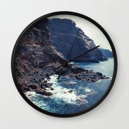 Wild Coast - La Palma - Canary Islands Wall Clock