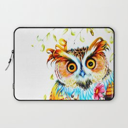 The most beautiful Owl Laptop Sleeve