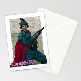 Jojo's pal - Captain K! Stationery Cards