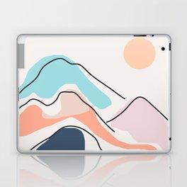 Minimalistic Landscape III Laptop & iPad Skin