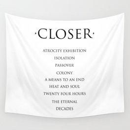 Closer Wall Tapestry