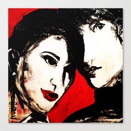 Gingham Love Canvas Print