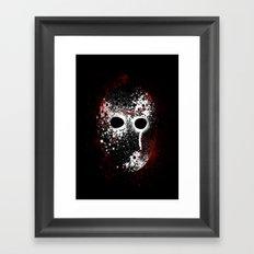 Happy Friday the 13th Framed Art Print