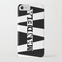mandela iPhone & iPod Cases featuring Mandela tribute by Brian Raggatt
