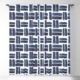 'bold brush strokes' - pattern Blackout Curtain