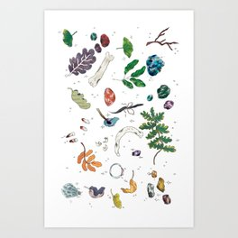 Not Forgetting Art Print