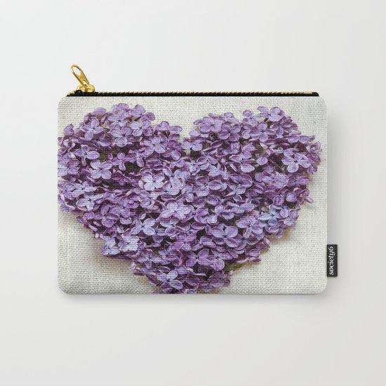 Summer Heart Carry-All Pouch