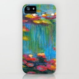 If only Monet had an iPhone iPhone Case