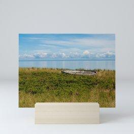 Lake Superior Skyline Mini Art Print