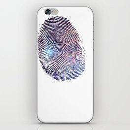 COSMIC TRACE iPhone Skin