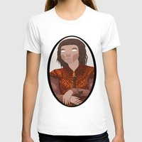 stark T-shirts featuring Eddard Stark by Jazmine Phillips