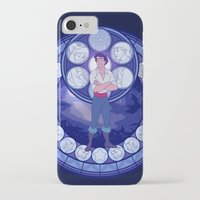 eric fan iPhone & iPod Cases featuring Eric by NicoleGrahamART