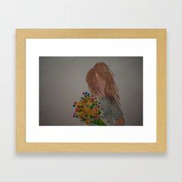 For me? Framed Art Print