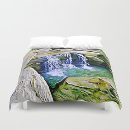 The Three Brothers Trilogy Vol 3 Duvet Cover