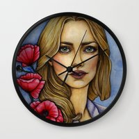 """les miserables Wall Clocks featuring """"Les Miserables"""" by musentango87"""