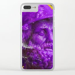 Candy dude (purple) Clear iPhone Case
