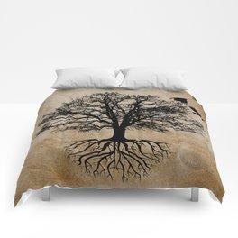 Tree of Life - Crow Tree A823 Comforters